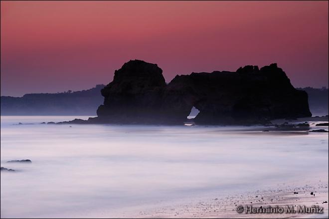 Ocaso marino